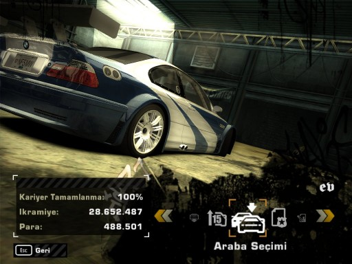 NFS-Most-Wanted-Turkce-Yama2 Need For Speed Most Wanted Türkçe Yama